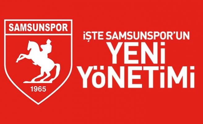 Samsunspor'un Yeni Yönetim Kurulu