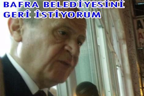 BAFRAYI GERİ İSTİYORUM