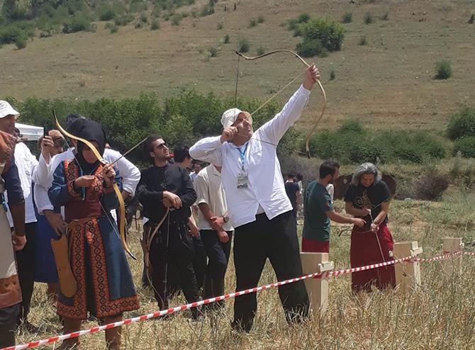 Samsun Takımı, Geleneksel Okçuluk Yarışmasına Katıldı