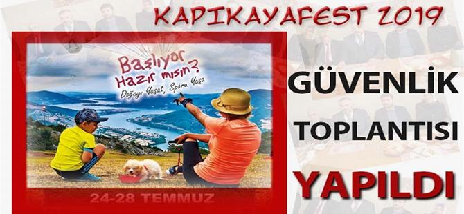 Kapıkayafest'e Marka Proje için Tüm Önlemler Alındı