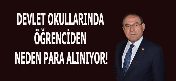 DEVLET OKULLARINDA ÖĞRENCİDEN NEDEN PARA ALINIYOR!