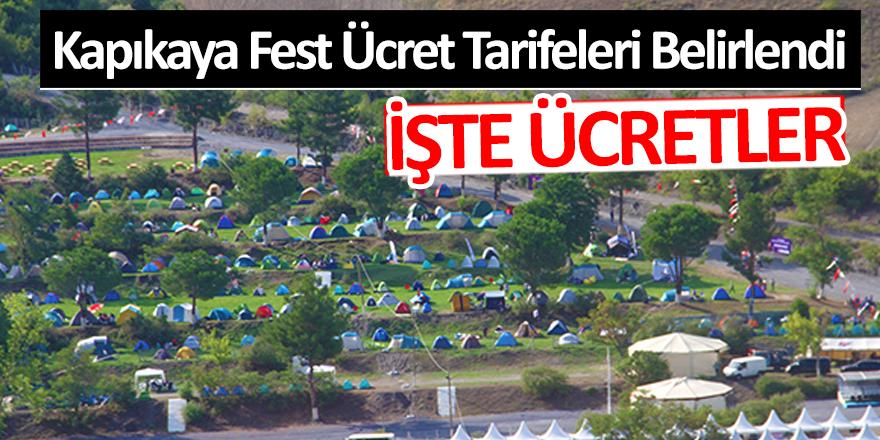 Bafra Kapıkaya Fest Ücret Tarifeleri Belli Oldu; İŞTE ÜCRETLER!