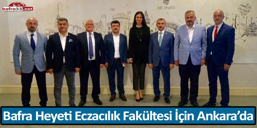 Bafra Heyeti Eczacılık Fakültesi İçin Ankara'da