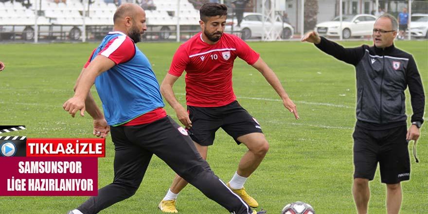 Samsunspor Yeni Sezon Hazırlıklarını Kendi Tesirlerinde Sürdürüyor