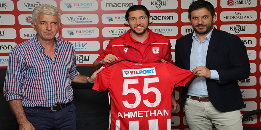 Samsunspor  Ahmethan Köse ile üç yıllık sözleşme imzalandı.