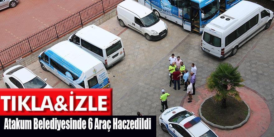 Atakum'da 40 Milyon TL'lik Borca Haciz