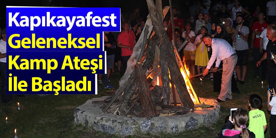 Kapıkayafest Geleneksel Kamp Ateşi İle Başladı