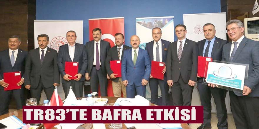 TR83'TE BAFRA ETKİSİ