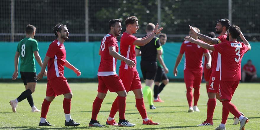 Samsunspor Hazırlık Maçında  Kocaelispor'u Yendi