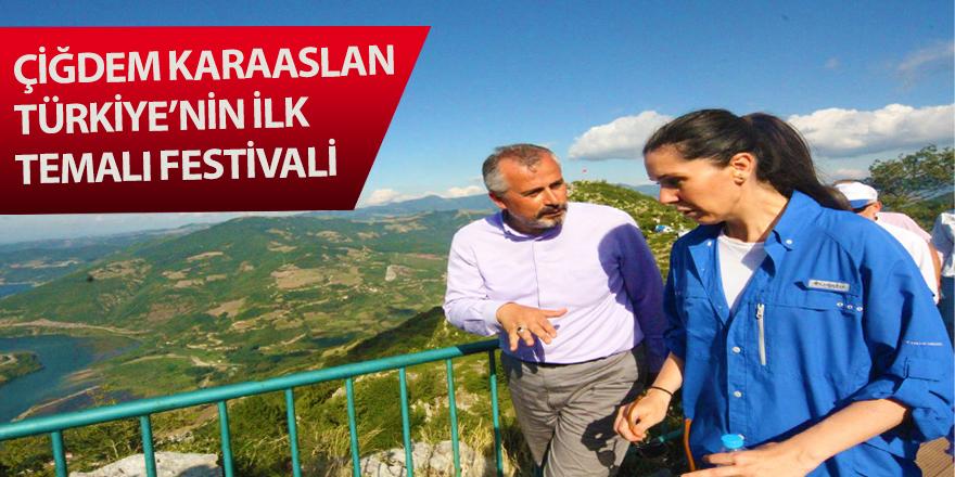 Karaaslan, Türkiye'nin ilk temalı festivali
