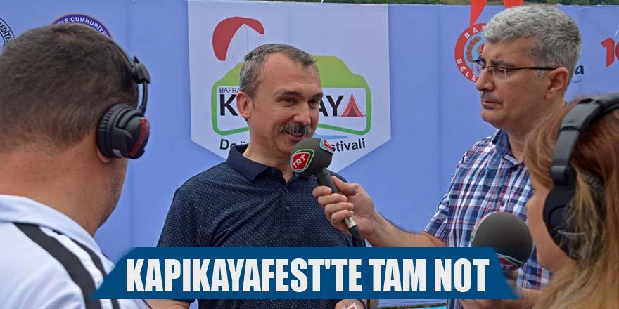 KAPIKAYAFEST'TE TAM NOT