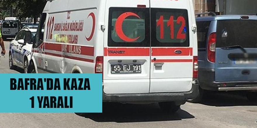 Bafra'da yeni bir kaza daha