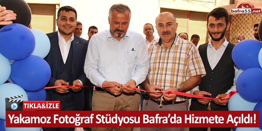 Yakamoz Fotoğraf Stüdyosu Bafra'da Hizmete Açıldı!