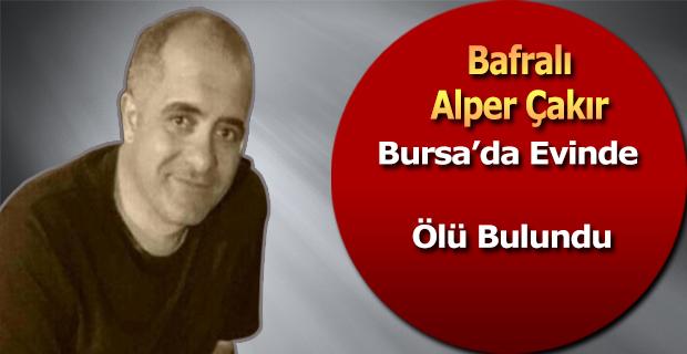 Bursa'da Hayatını Kabeden Alper Çakır Bafra'da Defin Edildi