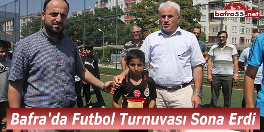 Bafra'da Kur'an Kursları Arası Futbol Turnuvası Sona Erdi