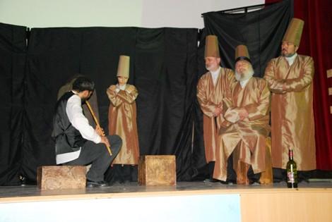 """BAFRA'DA """"NEYZEN"""" İSİMLİ OYUNUN GALASI YAPILDI"""