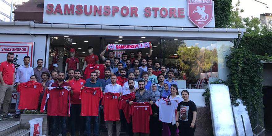 AK GENÇLİK'TEN SAMSUNSPOR'A DESTEK