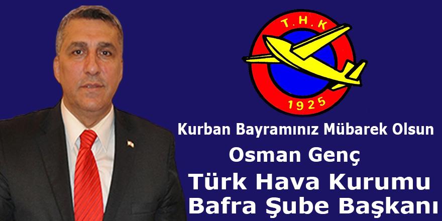 Osman Genç'in Bayram Mesajı