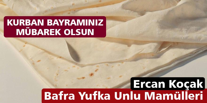 Ercan Koçak'ın Kurban Bayramı Mesajı