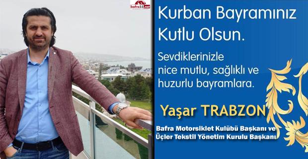 Başkan Trabzon'dan Kurban Bayramı Mesajı