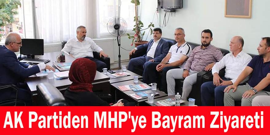 AK Partiden MHP'ye Bayram Ziyareti
