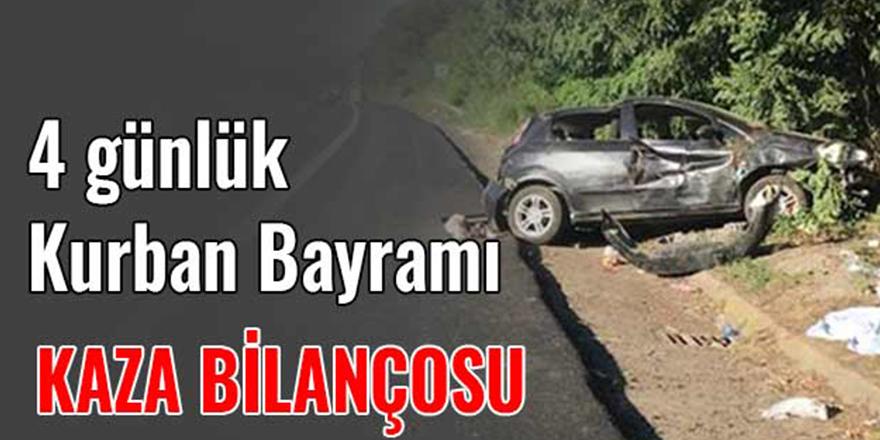Bayram Tatilinin İlk 4 Gününde Kaza Bilançosu: 40 ölü, 349 yaralı