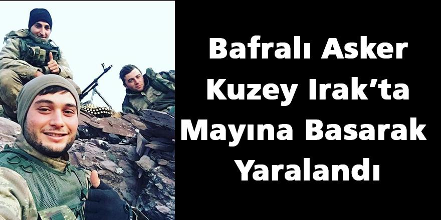 Bafralı Asker Kuzey Irak'ta Mayına Basarak Yaralandı