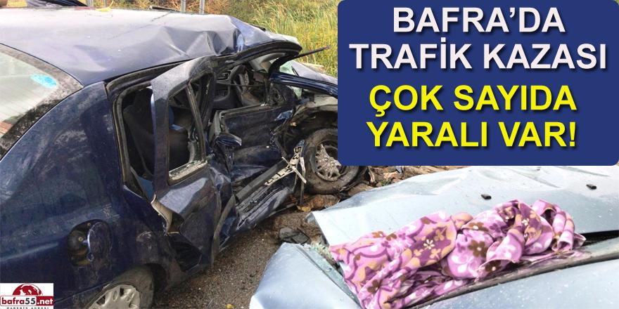 Arı Kovanı yüklü otomobil kaza yaptı 1'i Ağır 4 kişi yaralandı