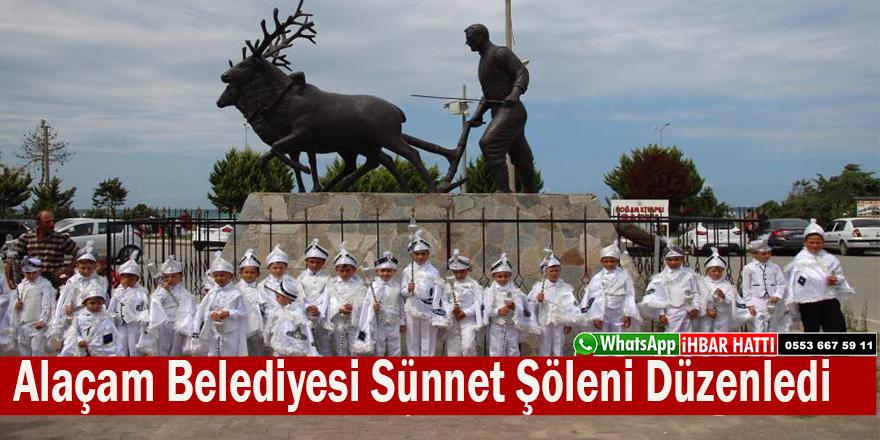 Alaçam Belediyesi Sünnet şöleni Düzenledi