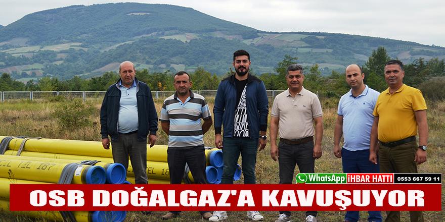 BAFRA OSB DOĞALGAZ'A KAVUŞUYOR