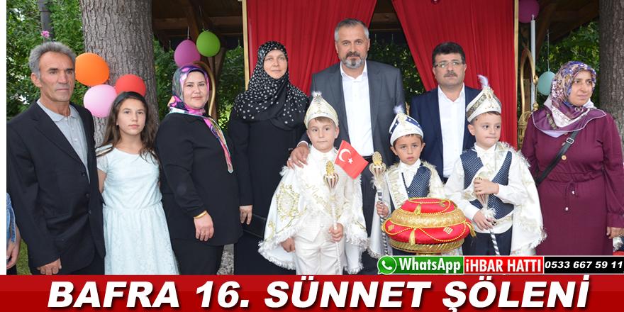 Bafra Belediyesi 16. Geleneksel Sünnet Şöleni