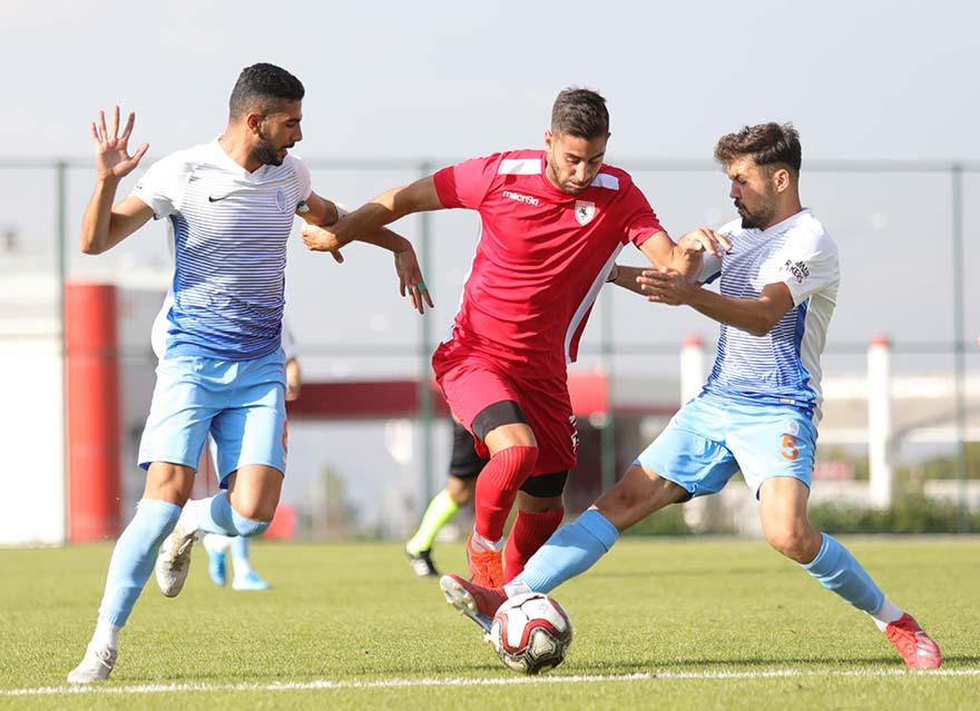 Samsunspor Erzurum'da  Üçüncü Hazırlık Maçında Berabere Kaldı