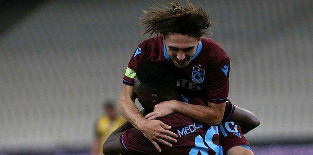 Trabzonspor Yunanistan'dan Avantajla Dönüyor