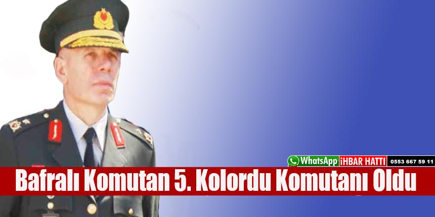 Bafralı Ahmet Kurumahmut  5. Kolordu Komutanı Oldu