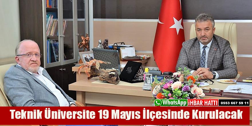 Teknik Üniversite 19 Mayıs İlçesinde Kurulacak