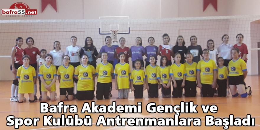 Akademi Gençlik ve Spor Kulübü Antrenmanlara Başladı