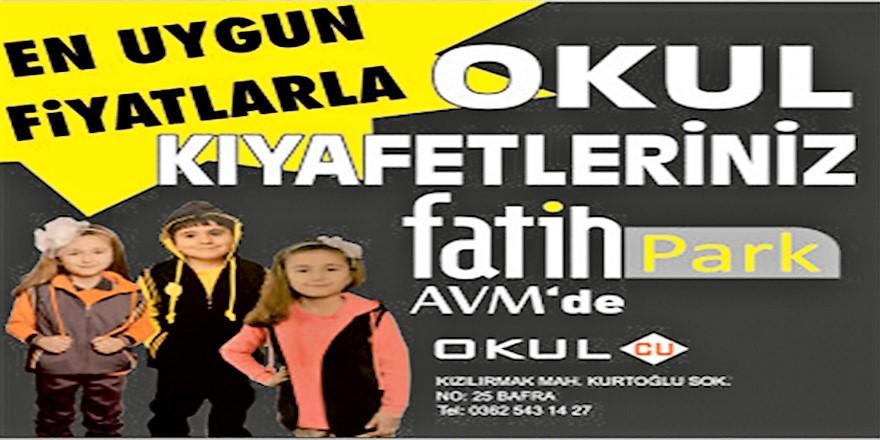 FatihPark AVM Okul İhtiyaçlarınızı Karşılıyor