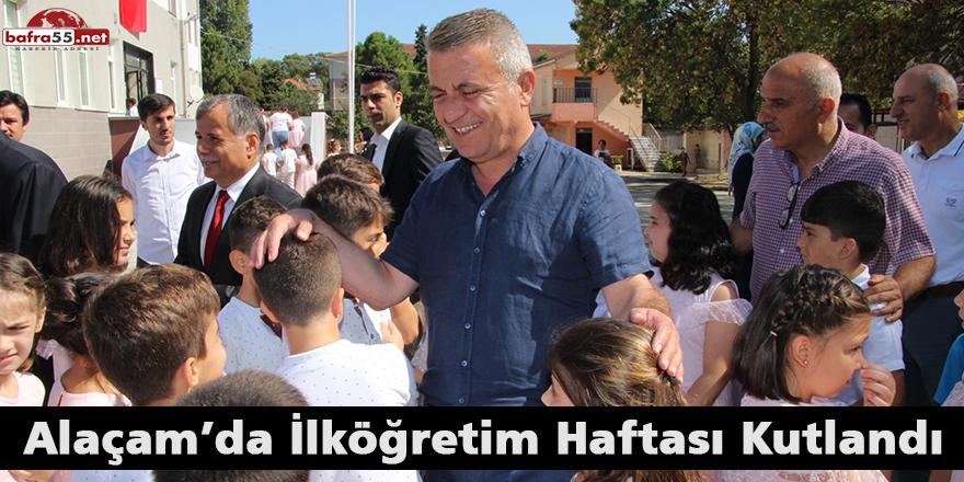 Alaçam'da İlköğretim Haftası Kutlandı