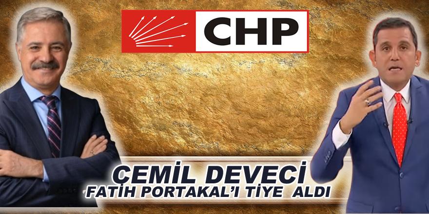 Cemil Deveci Fatih Portakal'ı tiye mi aldı