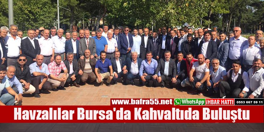 Havzalılar Bursa'da Kahvaltıda Buluştu