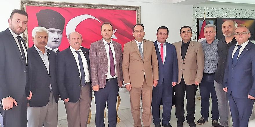 Türkiye Kamu-Sen Bafra İlçe Temsilciliğinden  Bafra Kaymakamı Cevdet Ertürkmen'e ziyaret