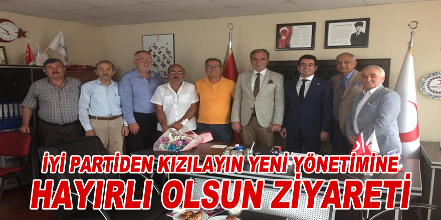 İYİ Parti'den Kızılay'a hayırlı olsun ziyareti