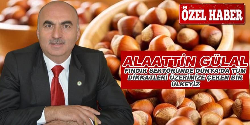 Türkiye Meyve Üreticileri Birliği Başkanı Alaattin Gülal'dan bafra55.net'e özel açıklamalar