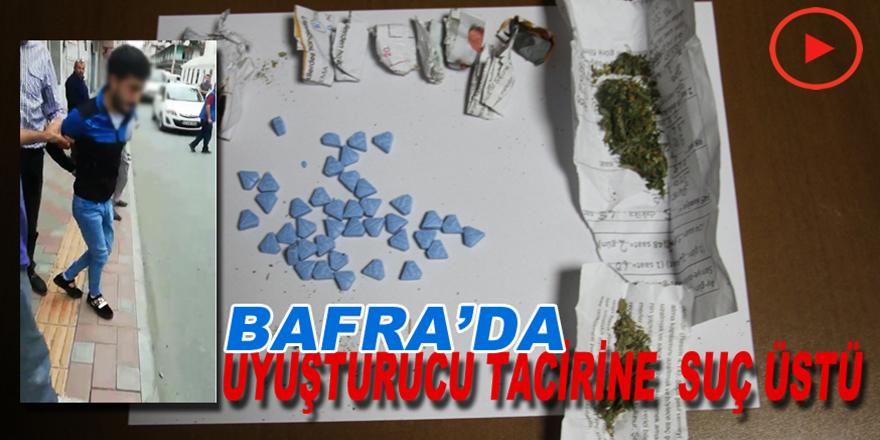 Bafra'da Zehir Tacirlerine Suç Üstü