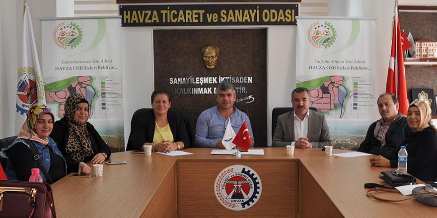 """Havza Belediye Başkanı Özdemir; """"Bayanlara destek vermek bizlere onur verir"""""""