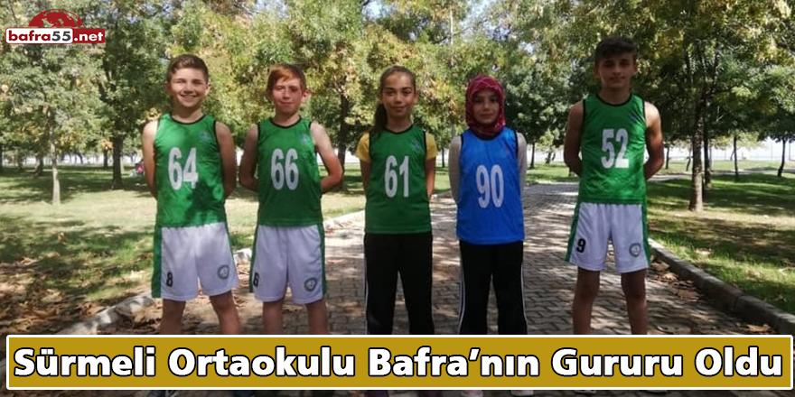 Sürmeli Ortaokulu Bafra'nın Gururu Oldu