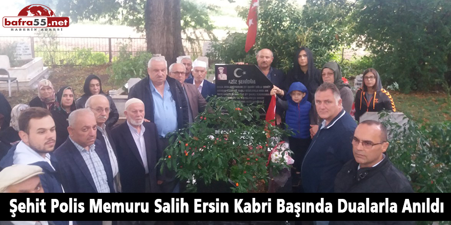 Şehit Polis Memuru Salih Ersin Kabri Başında Anıldı