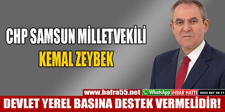 DEVLET YEREL BASINA DESTEK VERMELİDİR!