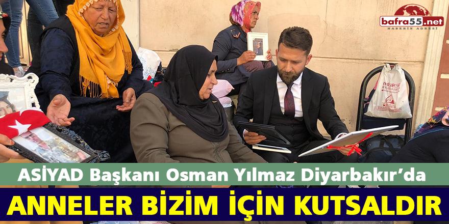ASİYAD Başkanı Osman Yılmaz Diyarbakır'da