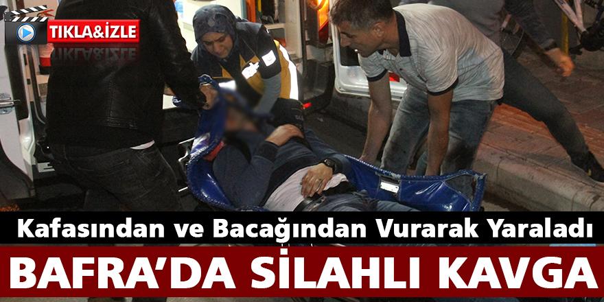 Bafra'da Kafasından ve Bacağından Vurulan Şahıs Yaralandı